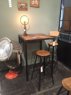 Next Post Previous Post How to Select A Tall Kitchen Table That Perfectly Completes Your Home Industrial Style Tall Table. Furniture For Small Spaces, Dining Table Marble, Furniture, Table, Interior Design Furniture, Home Furniture, Table Design, Metal Table, Tall Kitchen Table