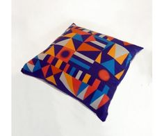 Printed Cushion Cover, Built to Last Mariska Meijers Amsterdam