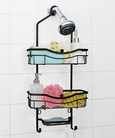 Look at this Bronze Two-Tier Shower Caddy on #zulily today!