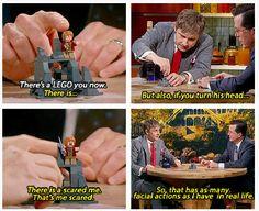 Martin Freeman's Lego figure // Heeheehee! Hahahahaha!! I need these! XD