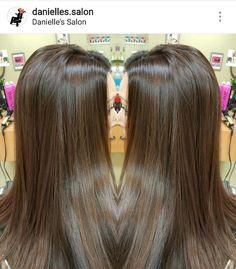 Milk chocolate brown hair color ...long hair long layers