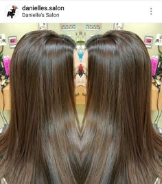 Milk Chocolate Brown Hair Color Long Layers