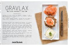 Salmon Gravlax Recipe.. it takes a couple of days to make, but it's totally worth it!!