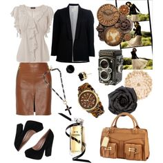 Vintage Tone, created by patricia-teixeira on Polyvore