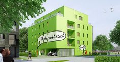 Live algae will power these apartments
