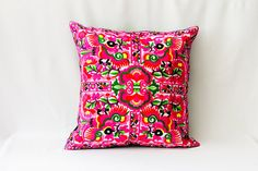 Thailand pillow/Pillow Decor/cushion cover/Thai Pillow Decor/PILLOW COVER/Needlecraft/Suzani pillow/decorative cushion/ethnic pillow