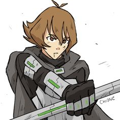 Let's switch places! Pidge is the one captured by the Galra and she's trying to find Shiro and go back home (meanwhile Matt is probably becoming the Green Paladin)