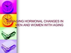 Chapter 6 Sexual Arousal and Response. Hormones Steroid hormones ...