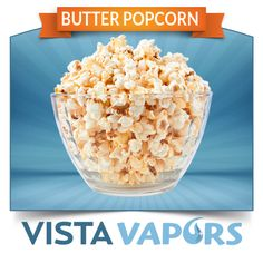 Butter Popcorn - Same great taste, just a different vape :) Warning: This flavor can wreck tanks/cartomizers due to the strength of the flavor. Vape at your own risk :) #ecig #ejuice #eliquid #ecigs #ejuices #eliquids ..... Order today! ----> http://vistavapors.iljmp.com/1/ejuices