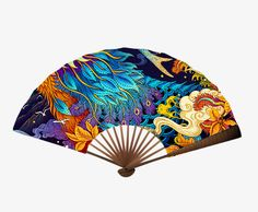 Chinese Fans, Chinese Style, 20 Wedding Anniversary, Watercolor Illustration, Wood Carving, Hand Fans, Hands, Japanese, Crafts