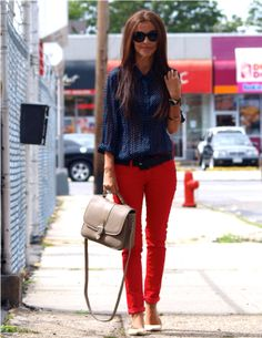 I want her hair, and also those pants