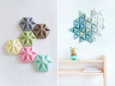 En Decofilia os mostramos originales ideas para decorar con origami, una técnica japonesa basada en crear figuras de papel sin pegamento.