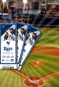 Tampa Bay Rays tickets!
