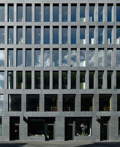 EUROPAALLEE 21. Eisgasse House - Max Dudler Architekt