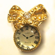 PKB-WATCH - Gold Watch with Bow