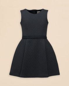 Moncler Girls' Quilted Dress - Sizes 2-6 | Bloomingdale's