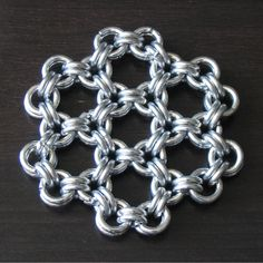 Japanese 6 into 2 Chainmaille