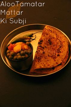 Merry Tummy: Video Tutorial: Aloo Tamatar Mattar Ki Subji/ Pota...