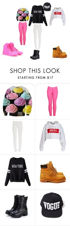 """first day of school part 2"" by drunkinlove8 on Polyvore featuring Tamara Mellon, Dimepiece, Timberland, Exull and Gucci"