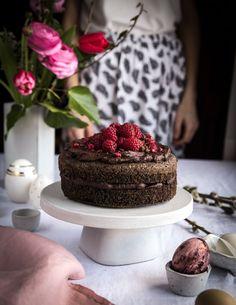 Makový koláč s avokádovým – čoko krémom