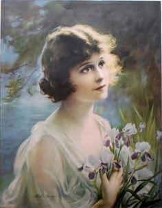 Zula Kenyon (1873-1947) : Magazine Cover (signed : 31x21 cm)