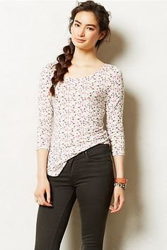 """Reverie Tee #anthropologie. I really like to black/white """"map"""" version (not shown here)"""