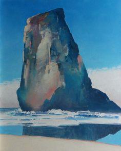 Painter's Process - Randall David Tipton  Arcadia acrylic on panel 20x16