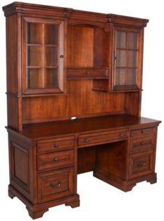 Aspen Richmond Credenza & Hutch Homemakers Furniture, Home Office Space, Wood Species, Adjustable Shelving, Aspen, Homemaking, Credenza, Bedroom, Storage