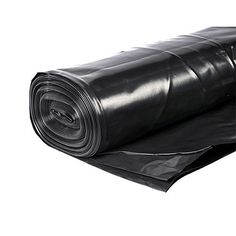 Builders Black Standard Polythene 4 x 25 Meters