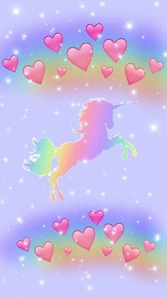 By Artist Unknown. Unicorn Fantasy, Unicorn Art, Cute Unicorn, Trendy Wallpaper, Pretty Wallpapers, Wallpaper Backgrounds, Galaxy Wallpaper Iphone, Funny Phone Wallpaper, Unicorn Wallpaper Cute
