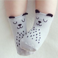d4c1e2916 Cartoon Cute Animal Dog Owl Pattern Kid Socks Cotton Anti Slip Socks For Toddler  Boy Girl