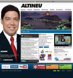 WS AGENCIA DIGITAL - Site do Deputado Altineu Cortes - Marketing Politico Digital
