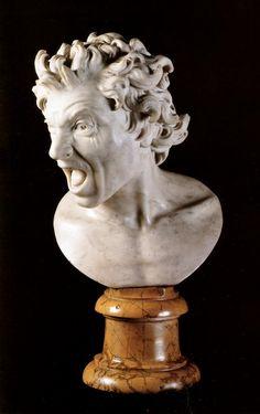 Anima damnata - Bernini, 1619