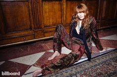 Florence Welch of Florence + The Machine 2015