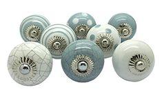 Set of 8 Grey & White Ceramic Door Knobs Vintage Shabby C... https://www.amazon.co.uk/dp/B01G2EQRXG/ref=cm_sw_r_pi_dp_U_x_gZunAbSH9NQ7T