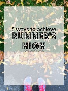 Learn how to achieve runner's high with these five helpful tips! You'll find out why we feel a runner's high, how to harness it, and what exercises work! Jogging Tips, Runners High, My Yoga, 5 Ways, Helpful Hints, Flora, Exercise, Running, Feelings