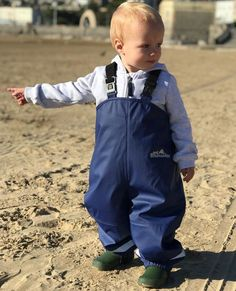 Outdoors Fleece Lined Dungaree in Purple by Wet Wednesdays Outdoor Play, Dungarees, Boys Who, More Fun, Children, Kids, Purple, Blue, Viola