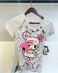25% off Tokidoki's Fiori Dolci Tee is our Daily Deal! Features graphics on the front and back of the tee. If you're a Tokidoki Fan and wear a small or medium what are you waiting for?  #tokidoki #sakura #donutella #kawaii #cute #apparel #arttoys #arttoy #vinyltoy #vinyltoys #designertoys #desgnertoy #designer #designers #art #vinyl #toy #toys #collectibles #collectible #markham #mindzai #toronto by mindzai