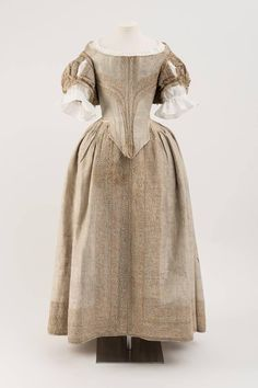 Dress, 1660's From the Fashion Museum, Bath on Twitter