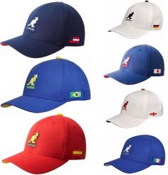Authentic-KANGOL-Nations-Snapback-Baseball-Cap-Hat-K1697FA- 97eb7be227dc