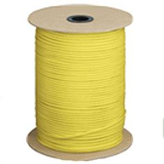 Yellow SS04 550 Type III Paracord 1000 Spool Made in the USA >>> Check out this great product.
