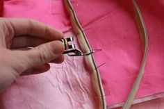sewing 101: the easiest zipper - invisible zipper tutorial