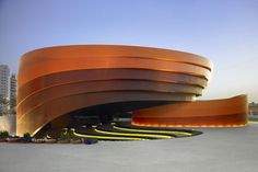 Holon Museum in Tel Aviv, #Israel. The #museum is dedicated to design and was designed by Ron Arad Associates.