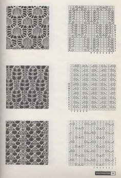 knit lace pattern - Αναζήτηση Google