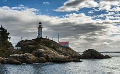 Lighthouse1 British Columbia, view 80.3 x 49.8 cm, 31.62 x 19.61 inches  #art #photography #sea #landscape #sky #lighthouse