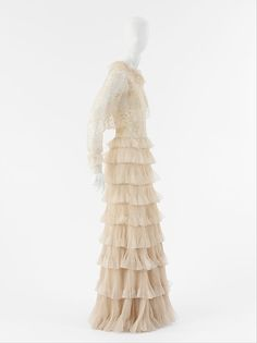 Evening ensemble House of Chanel (French, founded 1913) Date: 1936 Medium: silk