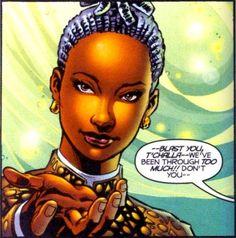 Faida, adopted daughter of Black Panther