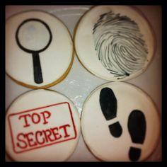 Spy cookies on Etsy, $36.00