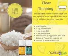 Discover Your Spiritual Gifts Essential Oil Diffuser, Essential Oils, Bath Salts Recipe, Diffuser Recipes, Spiritual Gifts, Body Systems, Drying Herbs, Discover Yourself, Glass Jars