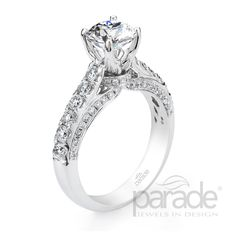 Riddle's Jewelry :: Details for Ladies Parade White Gold Diamond Semi-Mount (#16419847)